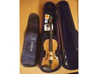 VIOLIN 4/4 STENTOR II . With case + accessories! As new.