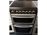 £150 Hotpoint 50cm Ceramic Top Cooker - 6 Months Warranty