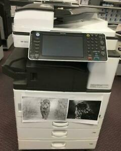 A3 11x17 Black and White Ricoh Multifunction Photocopier Printer MP 3053 BUY LEASE WARRANTY