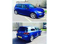 Volkswagen Golf R DSG Sonic Blue!