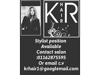Hairdresser job position available hairstylist required