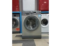wd5104 graphite hotpoint 7kg 1200 spin washing machine with warranty can be delivered or collected