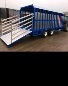 Agri cattle farm trailers