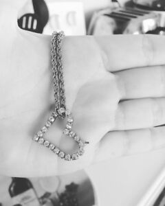 A sliver heart jewelry
