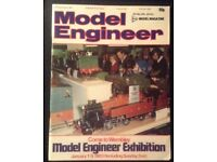 Collection of Model Engineer magazines, 36 in total, from 1982-1987