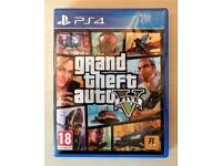 GTA5 (Grand Theft Auto 5) for PlayStation 4 (PS4)