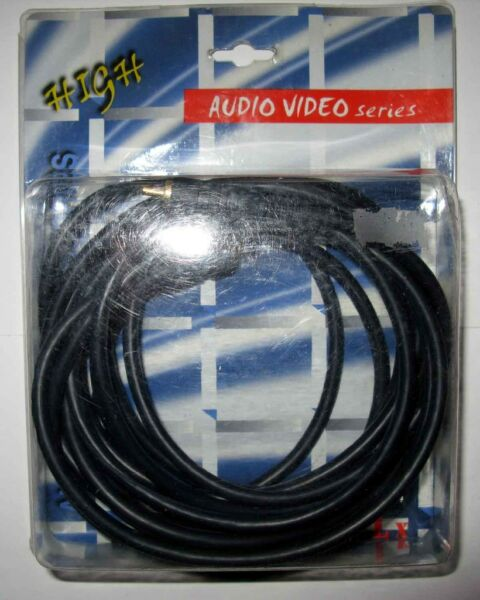 Kabel Audio -Video RCAxRCA 5 m nowy