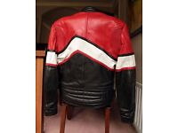 Sportex leather bike Jacket, Euro 38, UK 10, very nice condition and virtually unmarked.