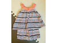 Summer baby girl outfit - New - George (0-3m)
