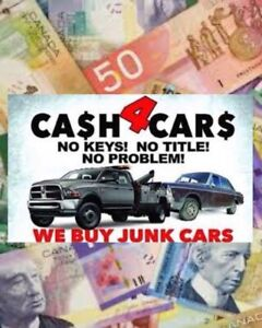 Top cash $$$ for your scrap unwanted vehicles call today