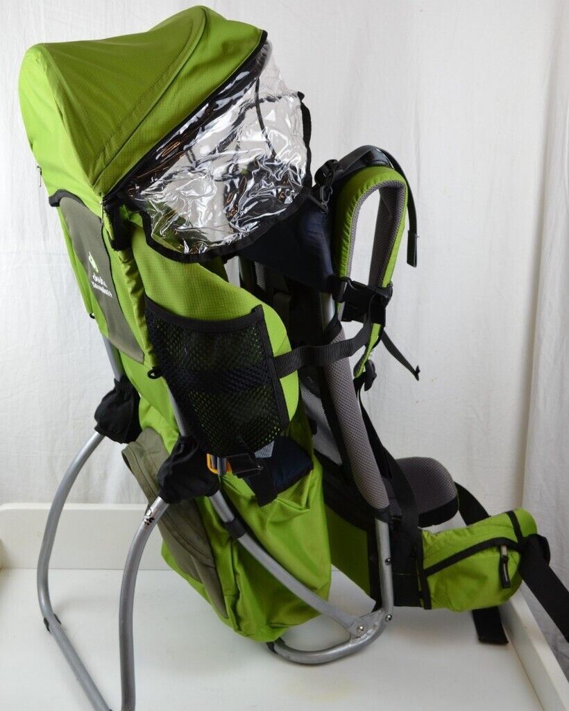 free delivery professional sale low price Deuter Kid Comfort Plus Baby/Toddler/Child Carrier Backpack -Green With  Sunshade / Raincover | in Aberdeen | Gumtree