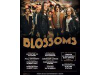 4x Blossoms tickets, Saturday 3rd December, Albert Hall Manchester