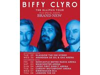 Biffy Clyro Standing Tickets X2 - Birmingham Barclay Card Arena - 7th December