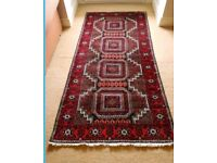 **SOLD**Quality wool rug ( 222 x 106 cm) vgc