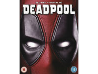 Deadpool - SEALED - BLURAY - BRAND NEW