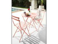 2 Seater Folding Garden Patio Dining Set