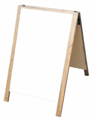 Dry Erase Double Sided A-frame Sidewalk Pavement Restaurant Sign Menu Board Fold