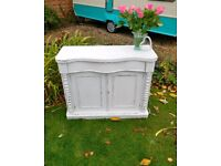 Shabby chic Victorian Chiffonier sideboard