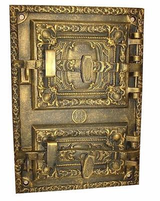 Cast Iron Fire Door Clay Bread Oven Pizza Stove Fireplace Gold PZ) 41,5 x 29,5
