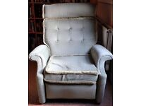 Green light reclining chair