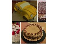 Homemade cakes and cupcakes - from £15