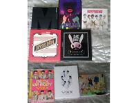 KPOP - 8 Albums - MBLAQ, f(x), VIXX, Boyfriend, B.A.P, BTOB