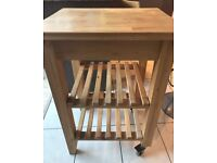 Ikea butchers table
