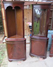 Reproduction Mahogany Furniture - Corner Unit(s)