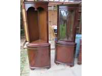 Reproduction Mahogany Furniture - Corner Unit(s)
