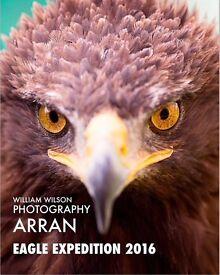 Eagle photography expedition Arran 9-11 Dec 2016