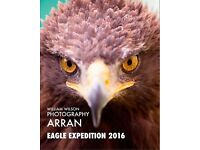 Eagle photography expedition Arran 9-11 Dec 2016