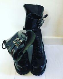 Gothic Boots (Vegan) size 5/6