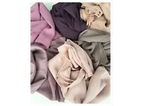 Bundle chiffon scarves