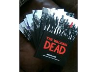 The Walking Dead Hardback Books **Books 1-8 (12 stories in each)** Great Condition **£80**