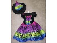 Girls witches costume age 3-4