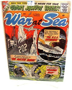 War-at-Sea-Charlton-1959-61-LOT-31-36-42-3-books