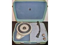 Vintage Portadyne mains-powered portable record player ( good working order ) just reduced to £35.
