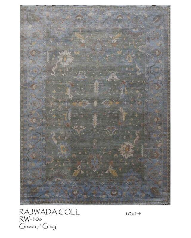 Remarkable Rajwada - Modern Contemporary Rug - Transitional Carpet - 10 X 14 Ft.