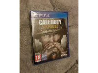 Call of Duty WWII (WW2) for PS4, new and sealed