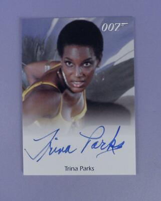 Image of 007 James Bond 2010 Heroes amp Villains Autograph Card Trina Parks as Thumper