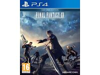 Final Fantasy XV: Day One Edition (PS4) will swap for resident evil 7