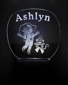 Custom personalized LED night lights for babys room