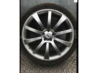 22inch Range Rover wheels x4 NEW TYRES