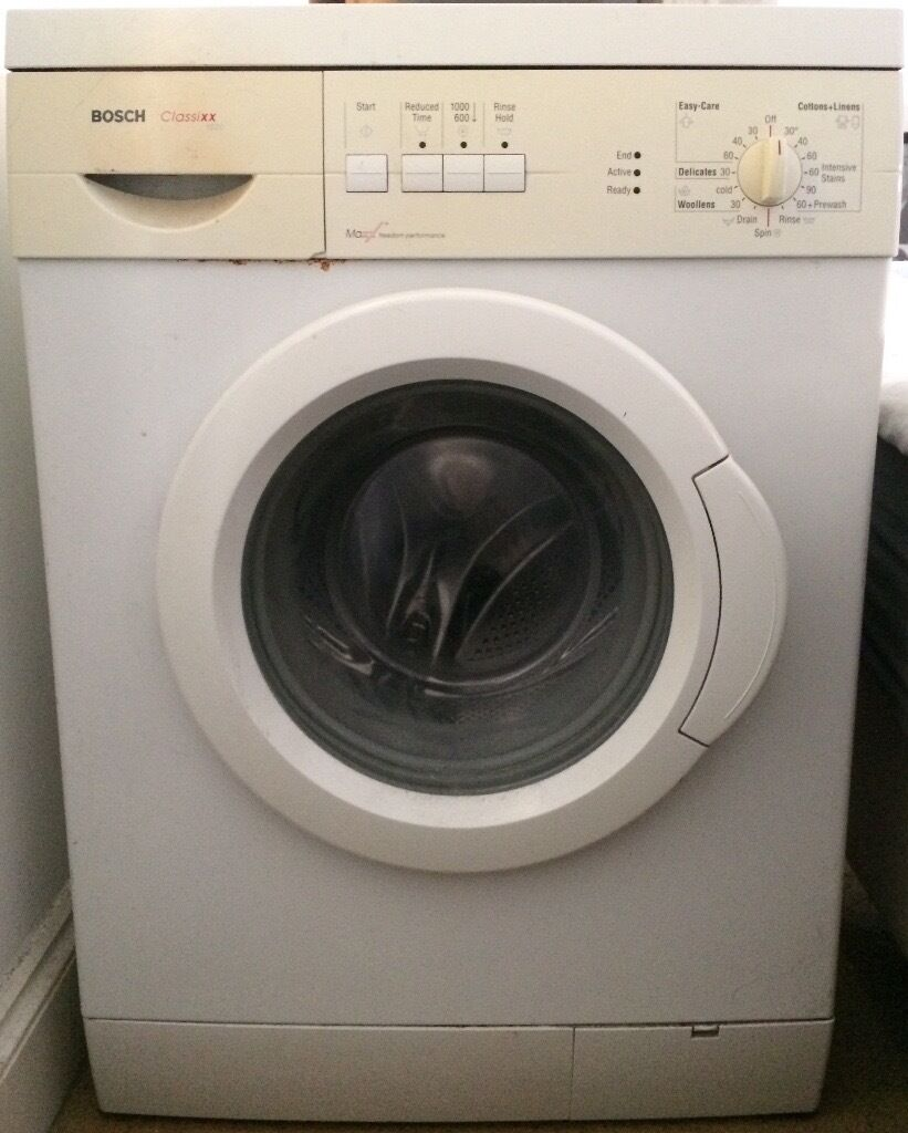 Old Washer Machine ~ Washing machine bosch classicxx maxx few years old