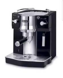 DeLonghi pomp espresso coffee machine