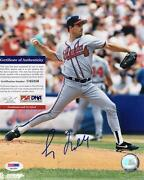 Greg Maddux Autographed Photo