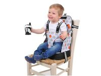 Booster seat Baby Polar wipe clean with messy bag