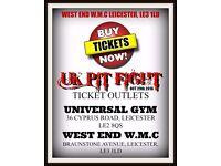UK PIT FIGHT TICKETS - STANDARD £20 - RINGSIDE £30