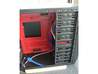 EzCool K2 ATX/mATX case and Sumvision PSU. 2 x SATA, 1 x Molex etc.