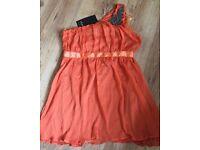 Ladies A.X Paris Party Mini Dress Size 14